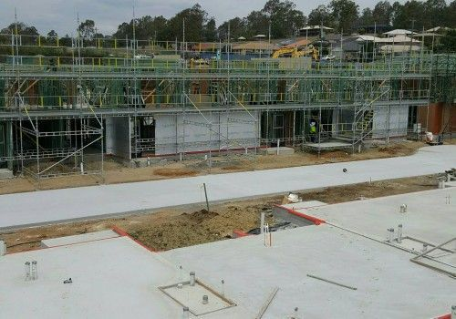 Haki System Scaffold for AICGC at Redbank Plains, Brisbane
