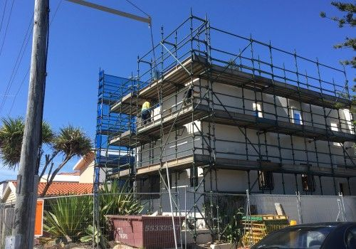 NJS Austrlia System Scaffold at Margate, Gold Coast, Queensland
