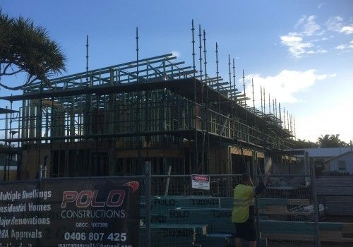 System Scaffold for Polo Construction, Scarborough, Queensland